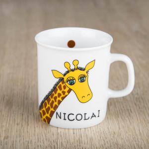 Kopp med giraff